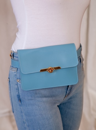 Baby Blue - Satchel - Bum Bag