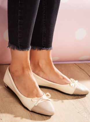 Casual - Cream - Mink - Casual Shoes