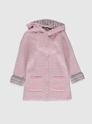 Pink - Girls` Cardigan - LC WAIKIKI