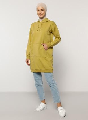 - Olive Green - Sweat-shirt