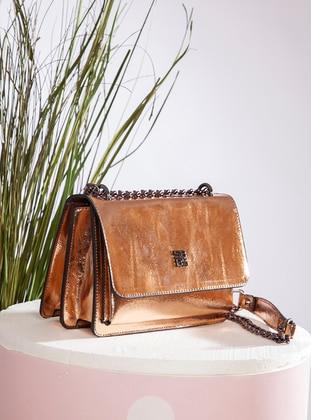 Polyurethane - Rose - Satchel - Shoulder Bags