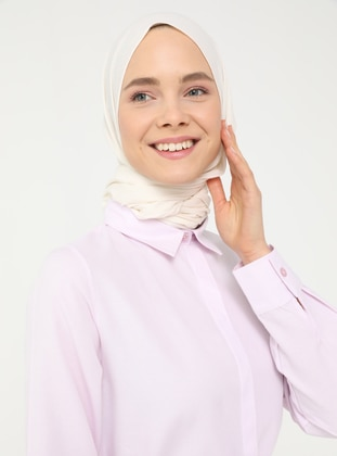 Pink - Point Collar - - Tunic