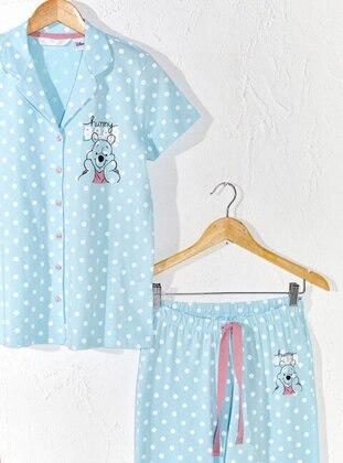 Blue - Pyjama - LC WAIKIKI