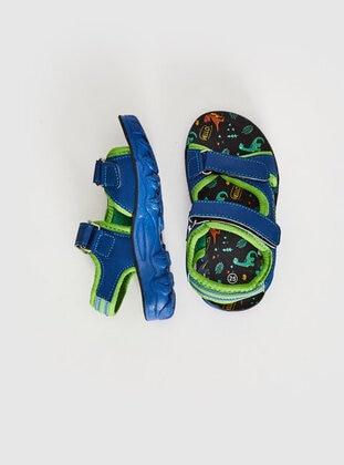 Blue - Boys` Sandals - LC WAIKIKI