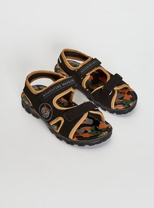 Black - Boys` Sandals - LC WAIKIKI