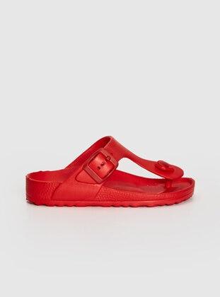 Red - Boys` Sandals - LC WAIKIKI