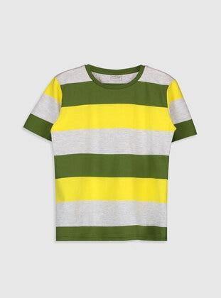 Green - Boys` T-Shirt