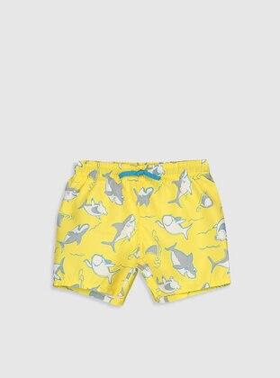 Yellow - Boys` Swimsuit - LC WAIKIKI