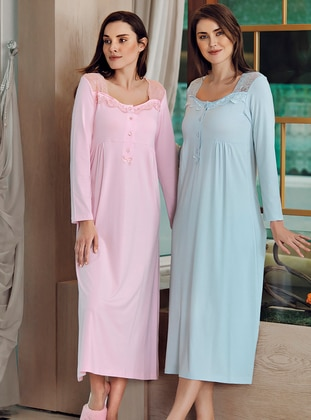 Pink - Modal -  - Nightdress