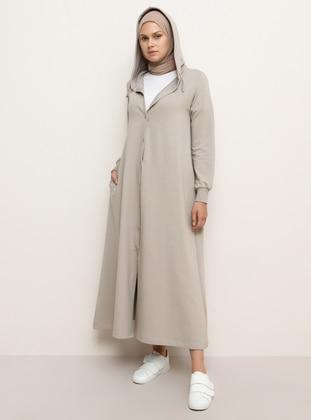 Mink - Unlined - Cotton - Topcoat