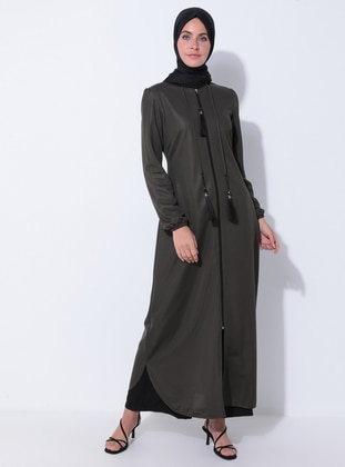 Khaki - Evening Abaya