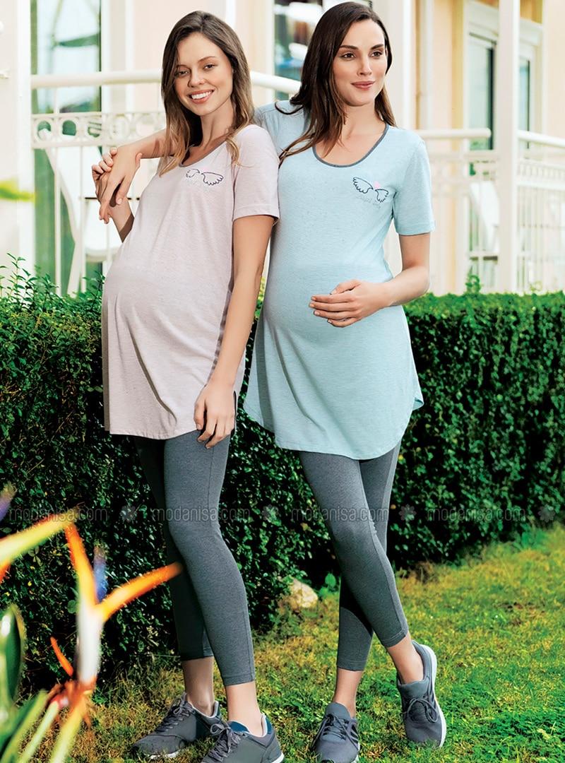 Salmon -  - Maternity Pyjamas
