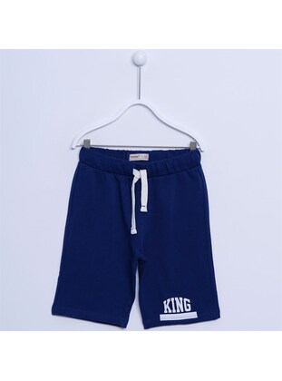Navy Blue - Boys` Shorts - Silversun
