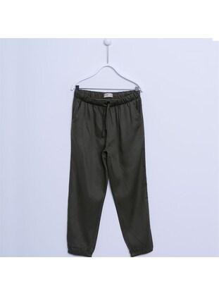 Khaki - Girls` Pants - Silversun
