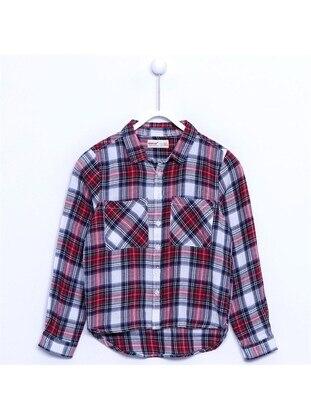Red - Girls` Shirt - Silversun