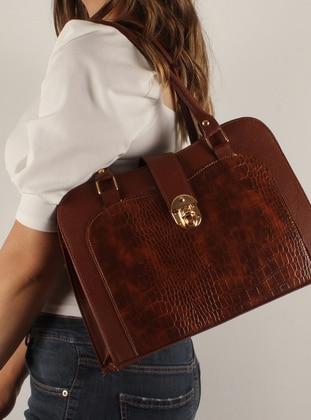 Tan - Satchel - Shoulder Bags