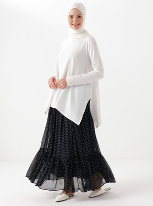 Polka Dot - Unlined - Skirt