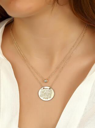Gold - Necklace - Duke Nickle