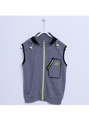 Anthracite - Boys` Vest