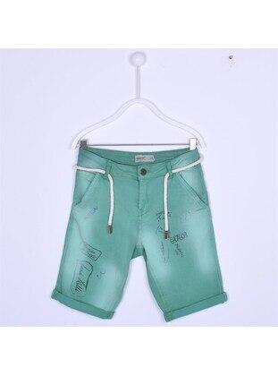 Green - Boys` Shorts - Silversun