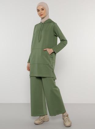 Green -  - Tracksuit Set