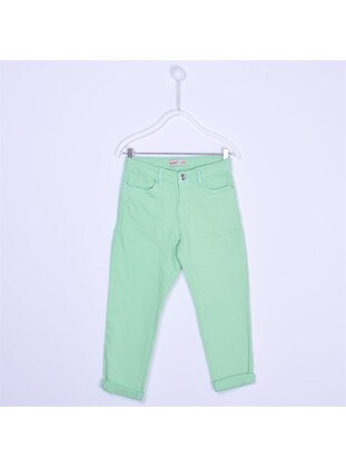 Green - Girls` Pants - Silversun