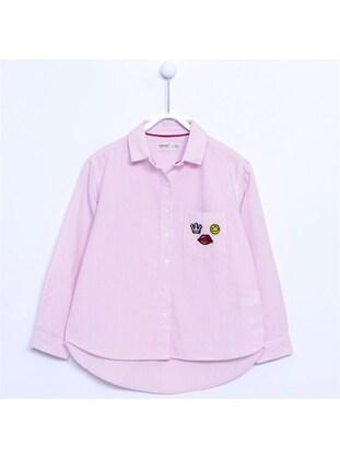 Pink - Girls` Shirt - Silversun
