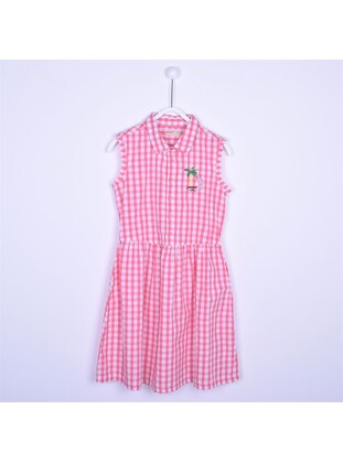 Pink - Girls` Dress - Silversun
