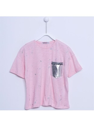 Pink - Girls` T-Shirt - Silversun