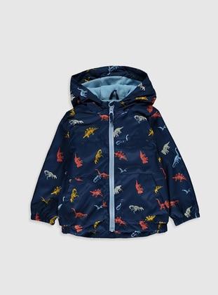 Navy Blue - Baby Jacket - LC WAIKIKI