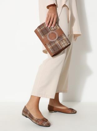 Brown - Flat - Suit