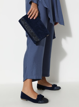 Navy Blue - Flat - Suit - Art Shoes