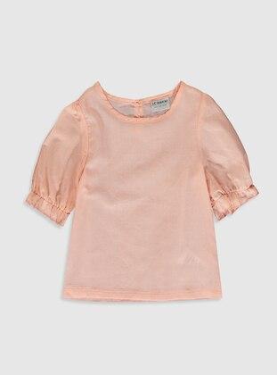 Pink - Girls` Blouse - LC WAIKIKI