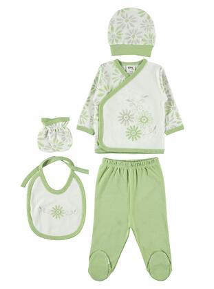 Green - Baby Underwear Set
