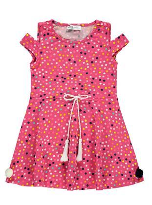 Fuchsia - Girls` Dress