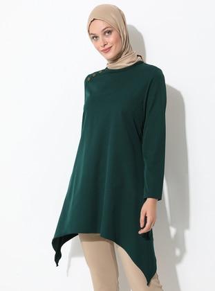 Emerald - Crew neck - Tunic