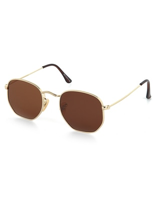 Gold - Sunglasses - Luis Polo
