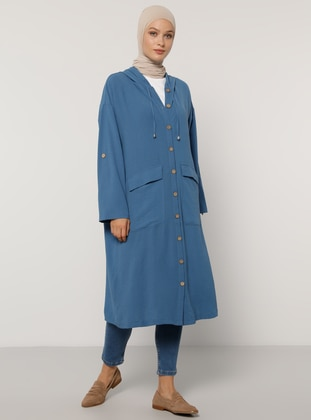 Indigo - Unlined - Trench Coat