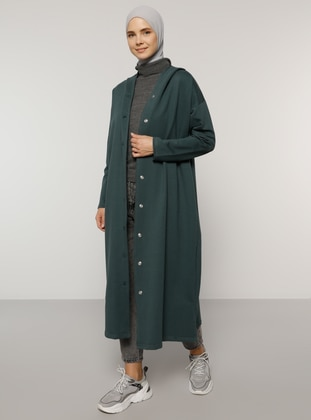Green - Unlined -  - Topcoat