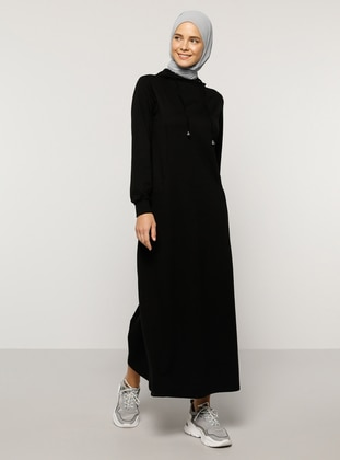 Black - Unlined -  - Dress