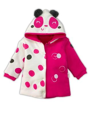 Polka Dot -  - Pink - Baby Sweatshirts