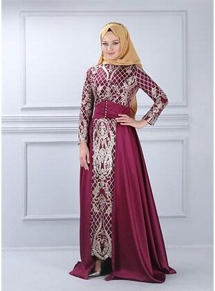 Fuchsia - Muslim Evening Dress