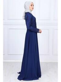 Indigo - Muslim Evening Dress
