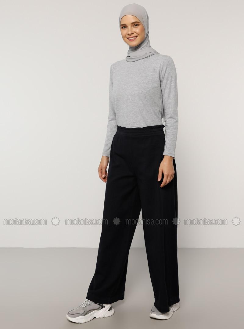 Navy Blue -  - Pants
