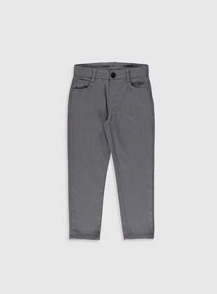 Gray - Boys` Pants - LC WAIKIKI