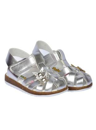 Silver tone - Girls` Sandals