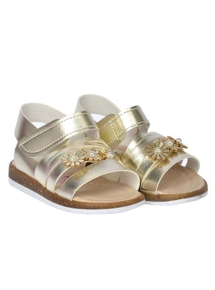 Gold - Girls` Sandals
