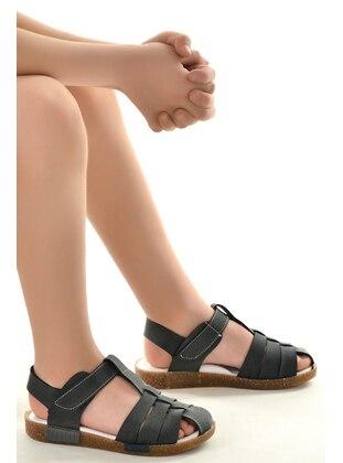 Anthracite - Boys` Sandals