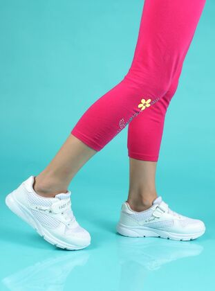 White - Sport - Girls` Shoes - Fast Step