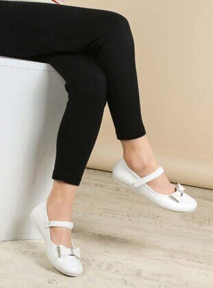 White - Casual - Girls` Shoes - Fast Step